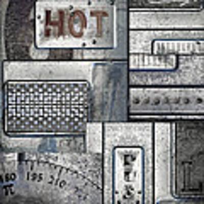 Hot Here Art Print