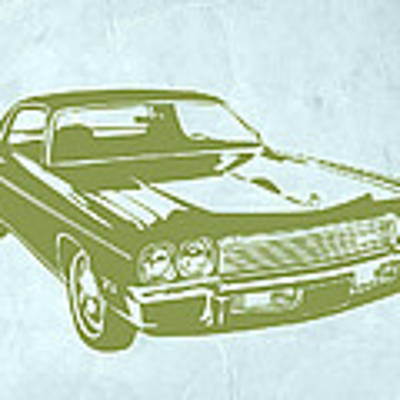 My Favorite Car 5 Art Print by Naxart Studio