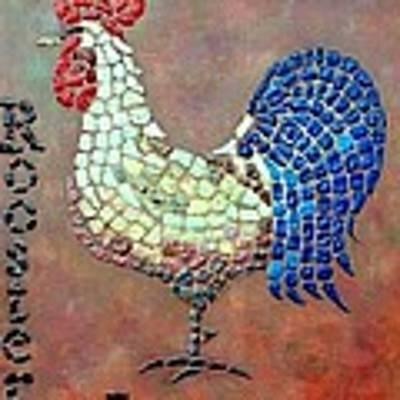 Rooster Lane Art Print by Cynthia Amaral