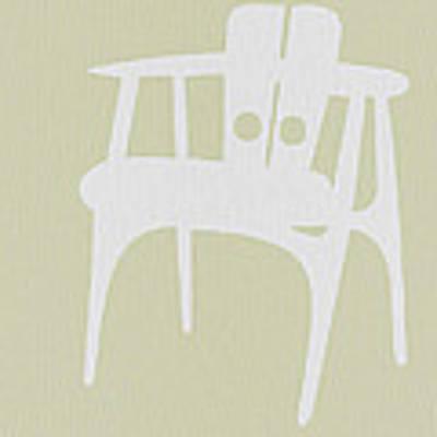 Wooden Chair Art Print by Naxart Studio
