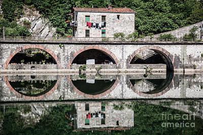 The Devil's Bridge - Borgo A Mozzano #3 Art Print by Richard Smukler