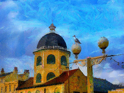 # 111 The Dome Cinema Worthing Uk Art Print by Alan Armstrong