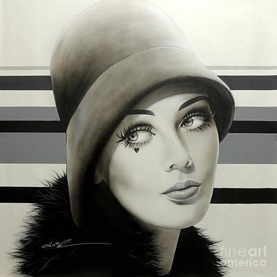 Beautiful Eyes Painting - ' 1968 ' by Christian Chapman Art
