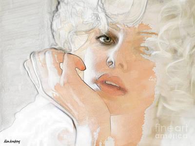 # 38 Charlize Theron Portrait Art Print