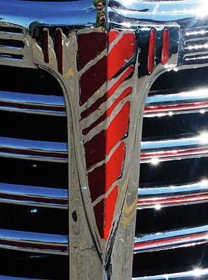 41 Chevrolet Emblem Art Print