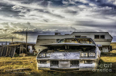Photograph -  80's Chevrolet Camaro by Bitter Buffalo Photography