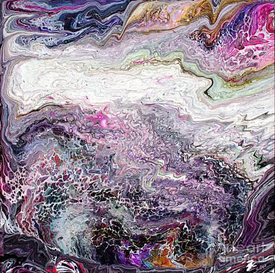 Painting - # 94 Gateway Swipe by Expressionistart studio Priscilla Batzell