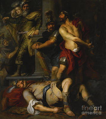 Flemish School Painting -  A Roman Execution by Celestial Images