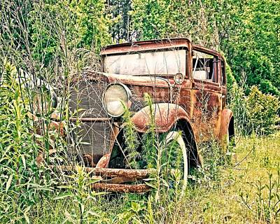 Abandoned Art Print by Susan Leggett