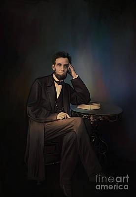 Abraham Lincoln Art Print by Andrzej Szczerski