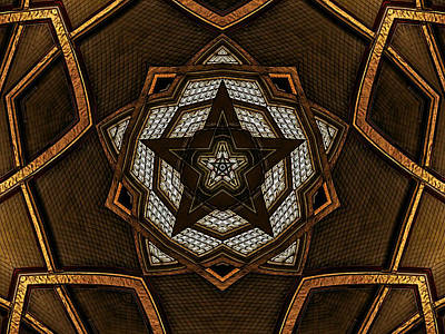 Digital Art -  After Deco 8 by Wendy J St Christopher
