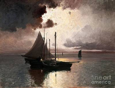 Storm Painting -  After The Storm by Celestial Images