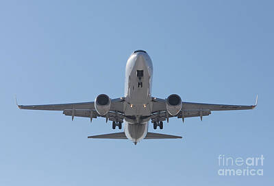 Print featuring the photograph  Aireuropa - Boeing 737-85p - Ec-jbl  by Amos Dor