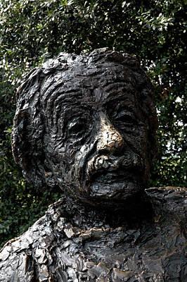 Emc2 Photograph -  Albert Einstein Statue by LeeAnn McLaneGoetz McLaneGoetzStudioLLCcom
