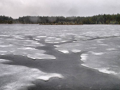 Photograph -  April Snow 2 by Jouko Lehto
