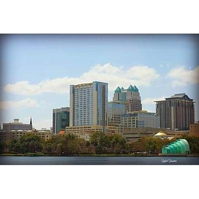 Abstract Skyline Wall Art - Photograph - ⛪ #architecture #orlando #building by Rafael Forestier