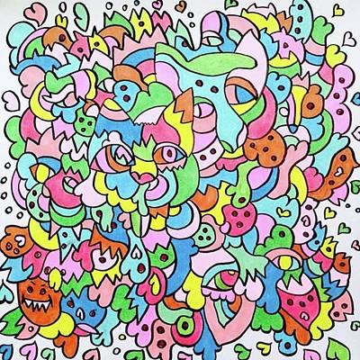 Pop Art Wall Art - Photograph - ニャー的な習作♡♡ #art by Asako Iwamizu