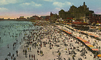 Photograph -  Atlantic City Spectacle by Unknown