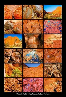 Photograph - ' Australia Rocks ' Kata Tjuta by Lexa Harpell