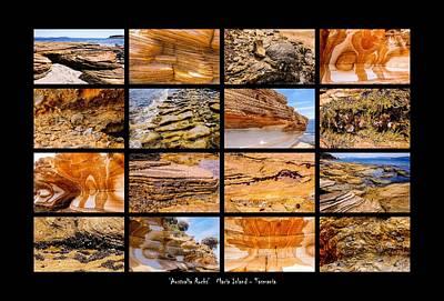 Photograph - ' Australia Rocks ' - Maria Island - Tasmania by Lexa Harpell