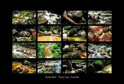 Photograph - ' Australia Rocks ' Mossman Gorge - North Queensland by Lexa Harpell
