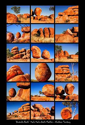Photograph - ' Australia Rocks' Karlu Karlu by Lexa Harpell