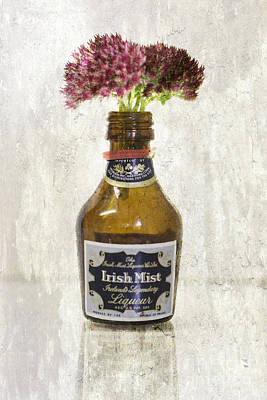 Nikki Vig Royalty-Free and Rights-Managed Images -  Autumn Joy Sedum Irish Mist by Nikki Vig