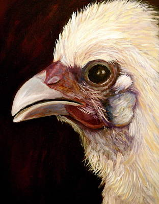 Baby Chick Art Print by Marie Hamby