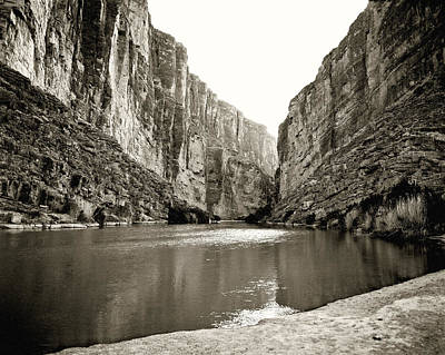 Photograph -  Big Bend National Park And Rio Grand River by M K Miller