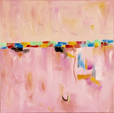 Blush Art Print by Suzzanna Frank