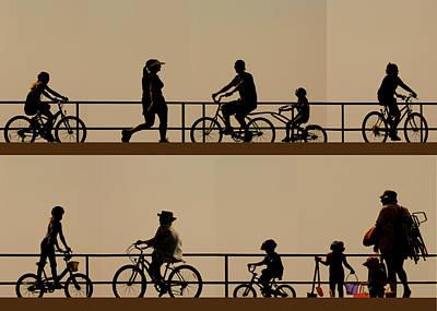 Photograph -  Boardwalk Movement by My Lens and Eye   - Judy Mullan -