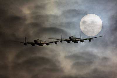 Canadian Heritage Photograph -  Bombers Moon by Jason Green