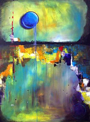 Ethereal Landscape  Original by Aarti Bartake