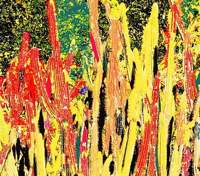 Bridgestone Cacti Art Print