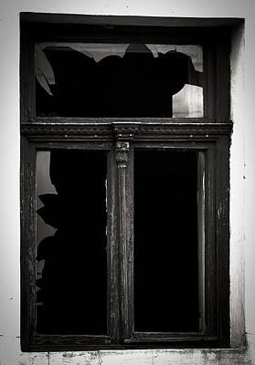 Broken Window Print by Calinciuc Iasmina