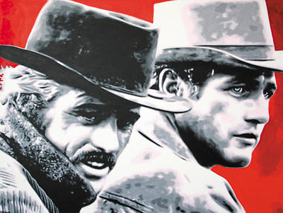 - Butch Cassidy And The Sundance Kid - Original by Luis Ludzska