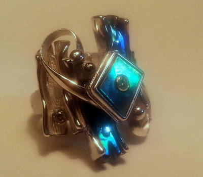 Cubic Zirconia Jewelry -  Canons Destroyer by Mikhail Savchenko