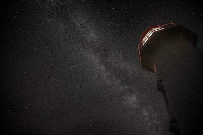 Digital Art -  Cap Gaspe Milky Way Overhead by Patrick Groleau
