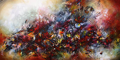 Directional Painting -  ' Catastrophe ' by Michael Lang