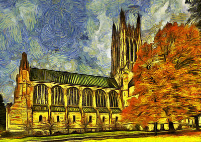 Cathedral Of St. John The Evangelist Art Print