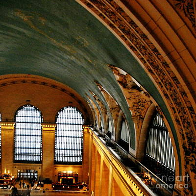 Photograph -  Catwalk View At Grand Central Terminal by Jacqueline M Lewis
