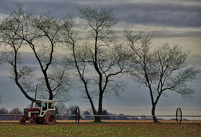 New Jersey Photograph -  Central Jersey Farmstead by Steven Richman
