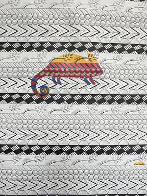 Checkered Pattern Drawing -  Chameleon Pattern  by Dana Scarlatos