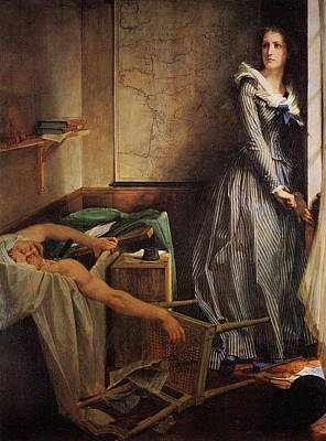 Charlotte Corday Art Print by MotionAge Designs