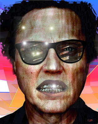 Christopher Walken Original by Eric Amsellem