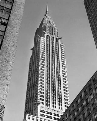 Chrysler Building Print by American School