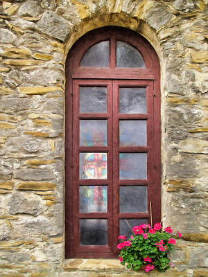 Photograph -  Church Window by David and Carol Kelly
