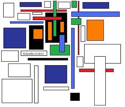 City Colors 3 Art Print by B L Qualls