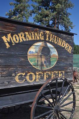 Coffee Wagon Art Print by Brent Easley