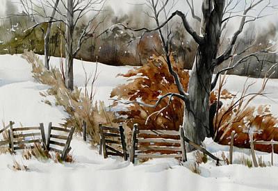Cold Gate Art Print by Art Scholz